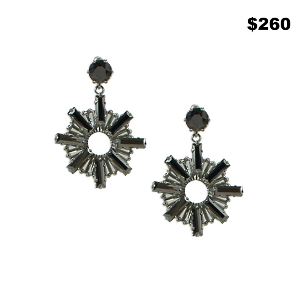 Hematite Earrings - $260