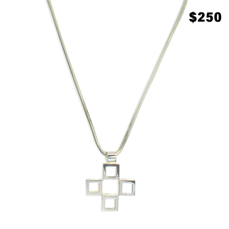 Nambe Sterling Necklace - $250