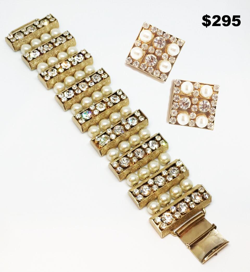 60s Pearl Set - $295