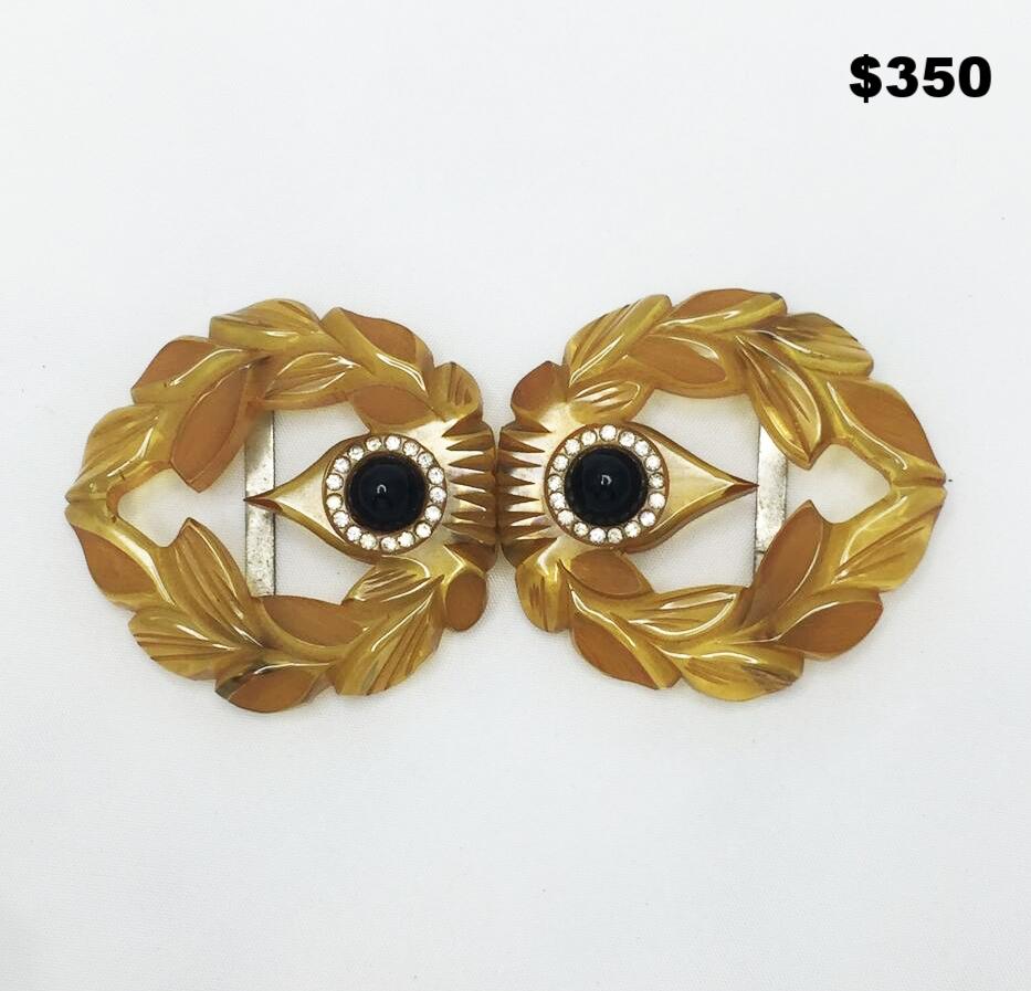 Bakelite Belt Buckle - $350