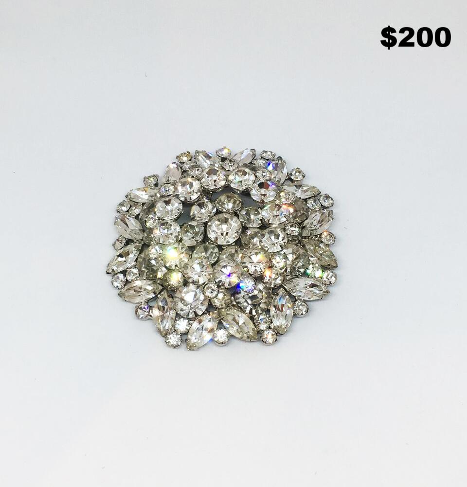 Double Wreath Brooch - $200