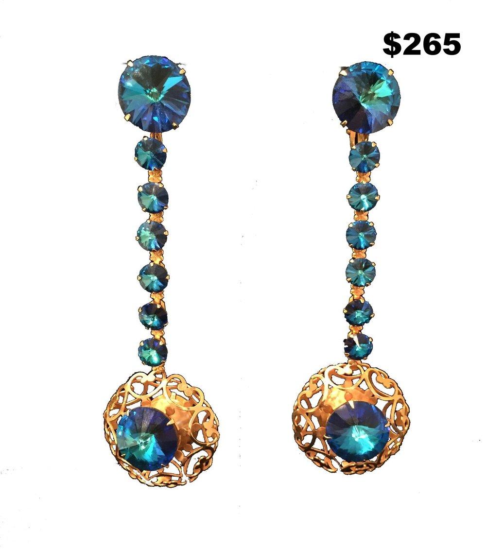 Rivoli Earrings - $265