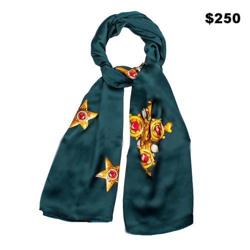 Forest Green Scarf - $250