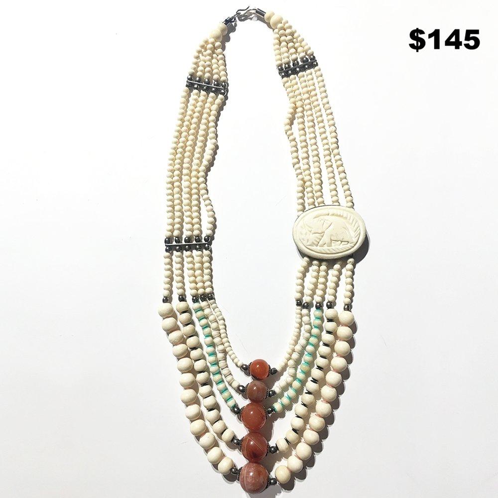 Bone Chain Necklace - $145