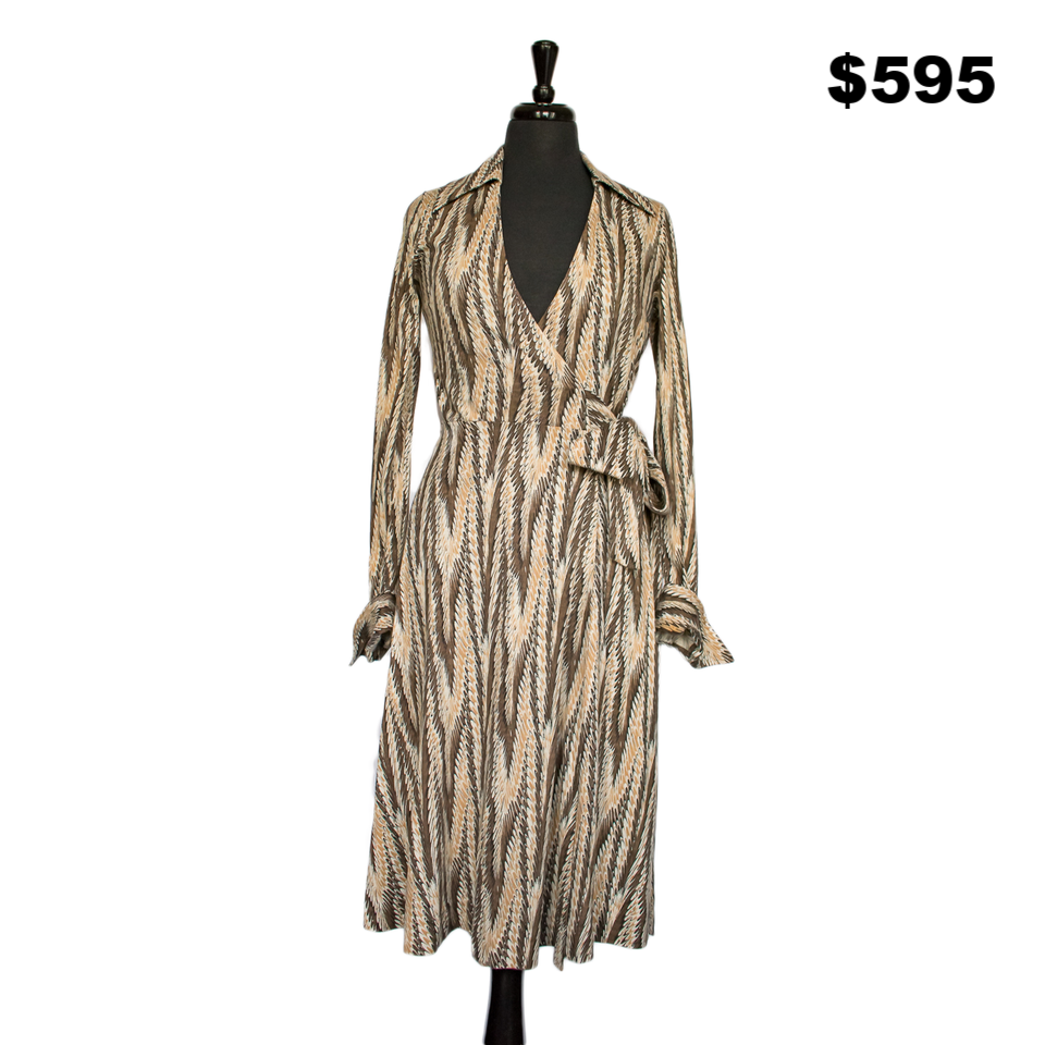 DVF 1970's Wrap Dress - $595