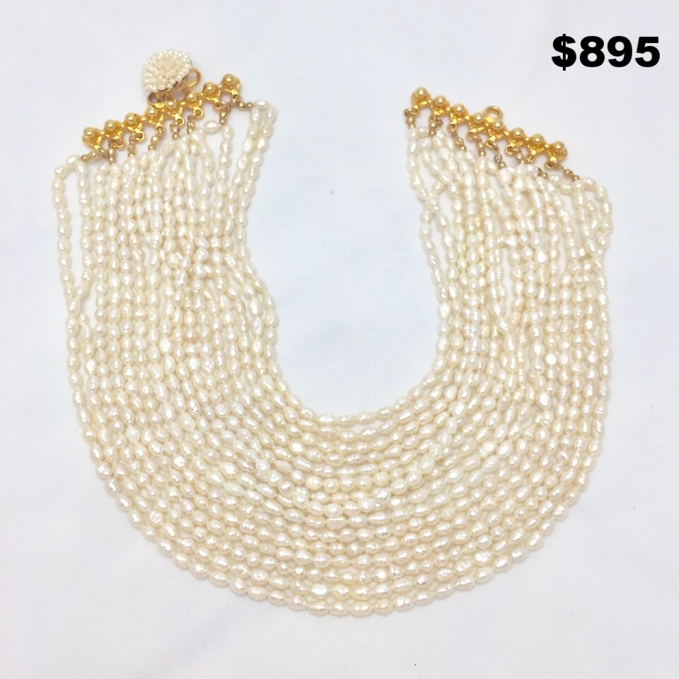 Barrera Freshwater Pearl Necklace