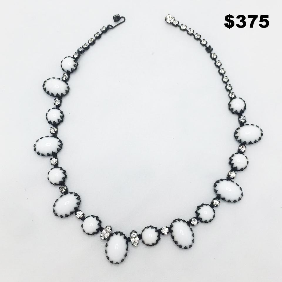 Vintage Rhinestone Necklace - $175