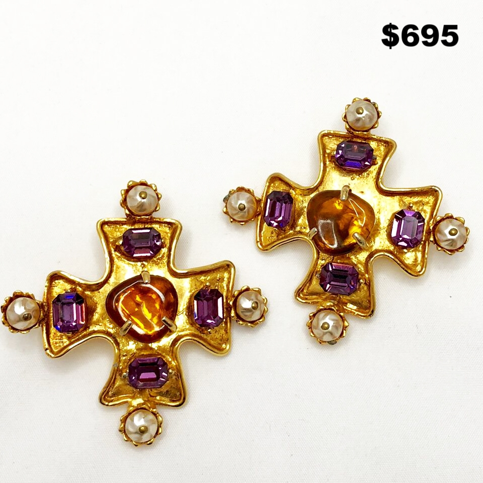 Christian LaCroix Earrings - $695