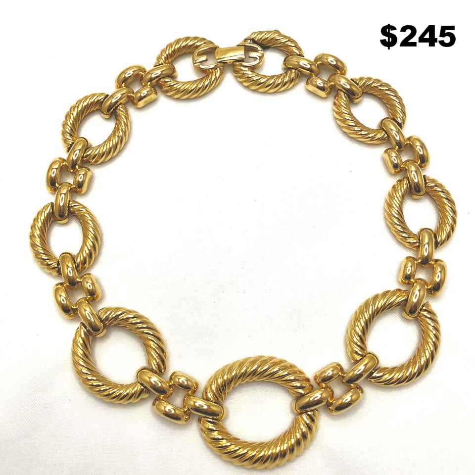 Givenchy Gold Necklace - $245
