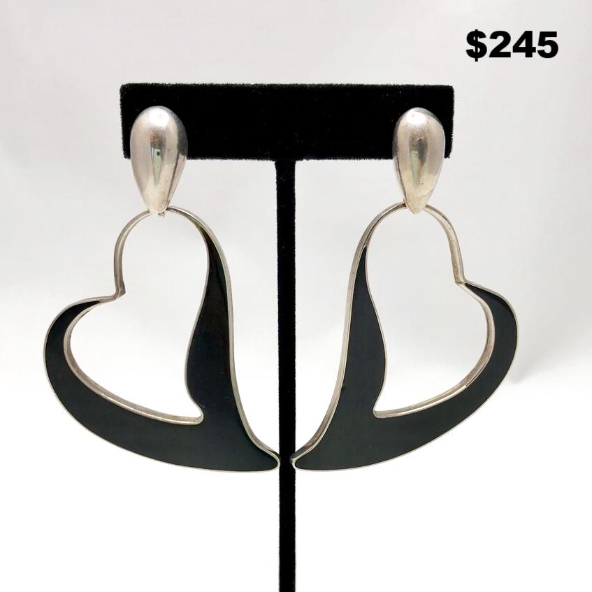 Heart Earrings - $245