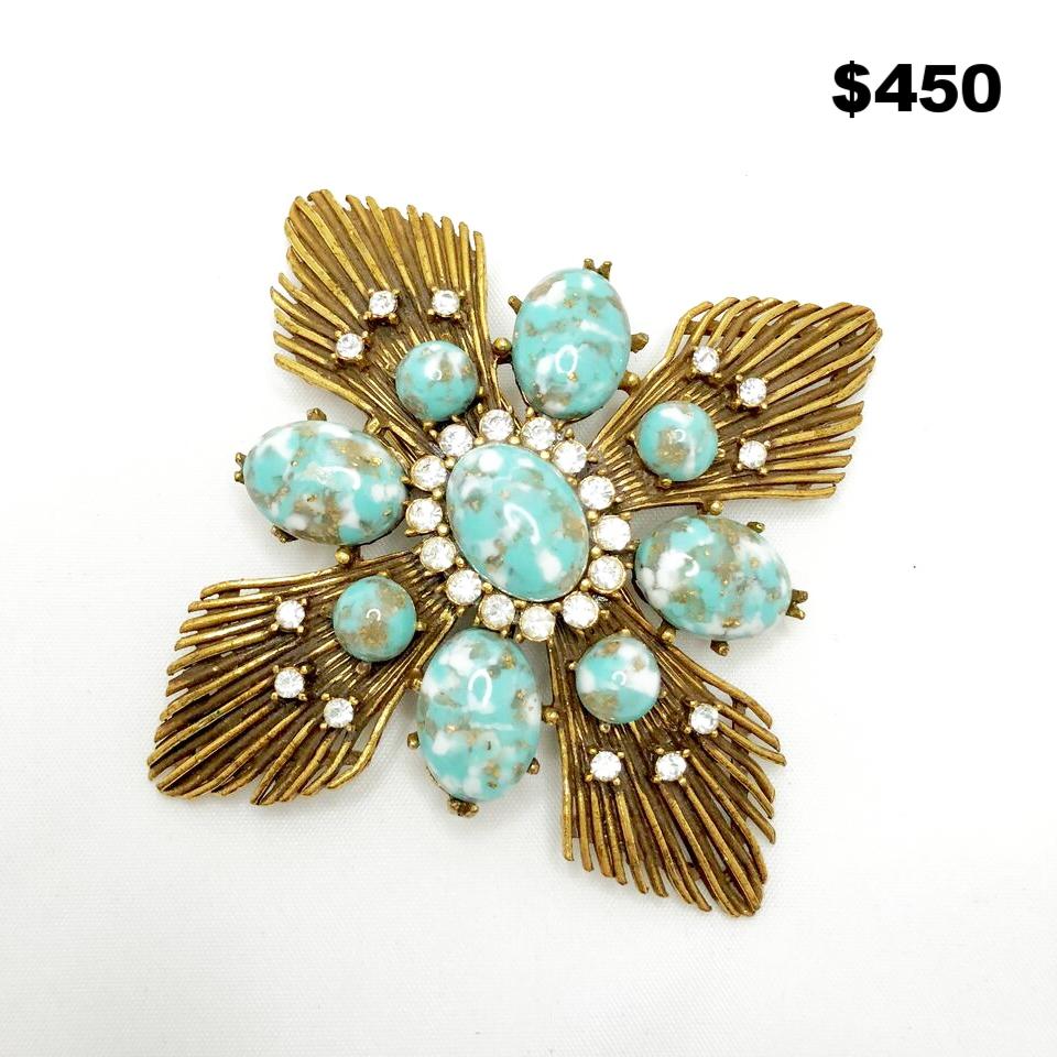 Dommerantz NY Fur Pin - $450