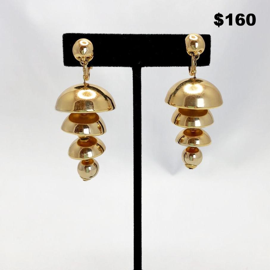 Napier Bell Earrings - $160