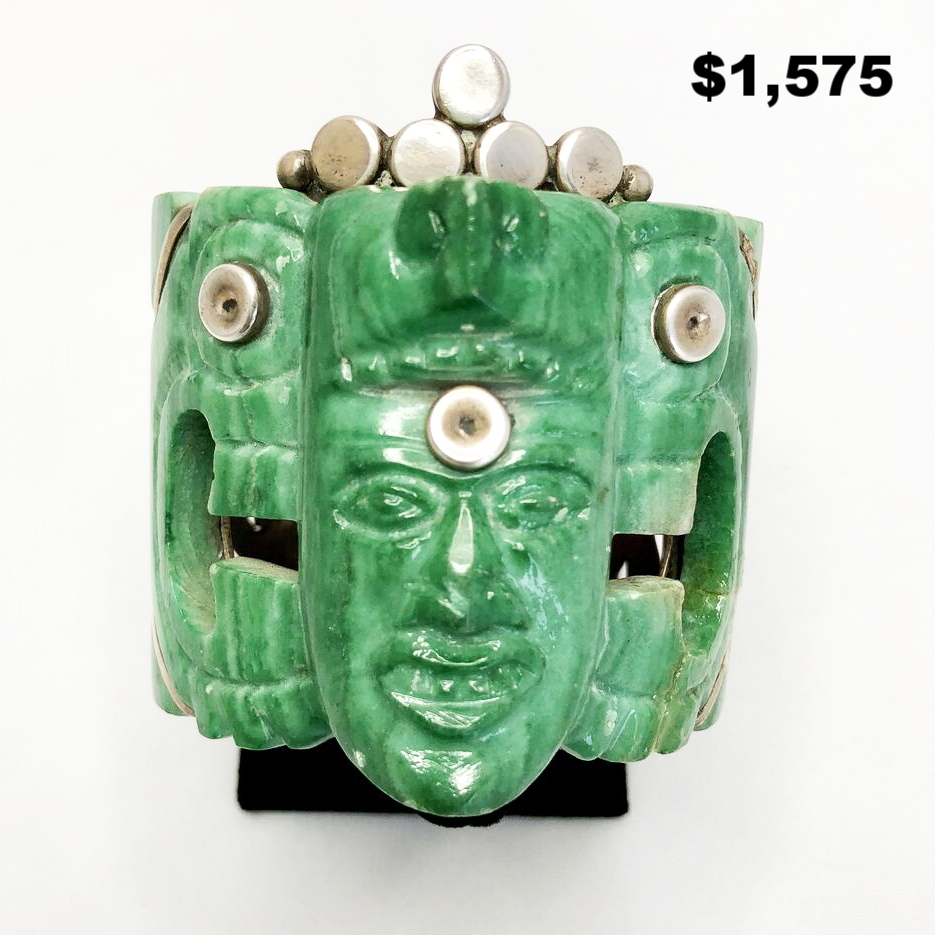 Signed Mexican Onyx Cuff - $1,575