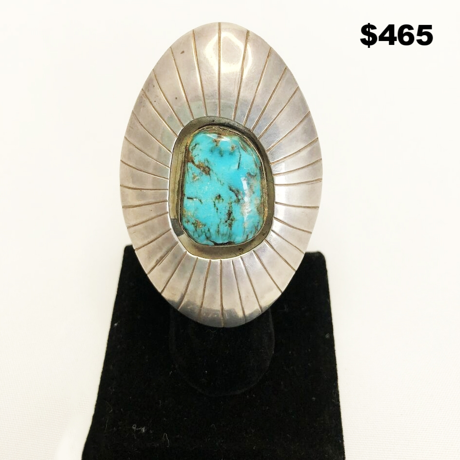 Native Sterling 40s Ring - $465
