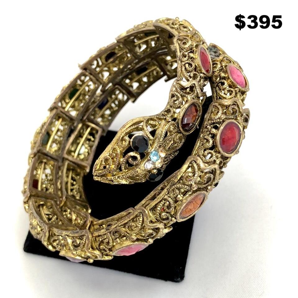 40s Snake Bracelet