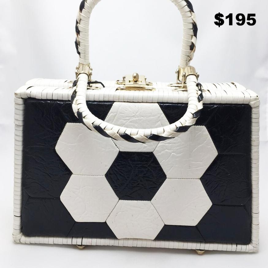 Wicker Vintage 50s purse - $195