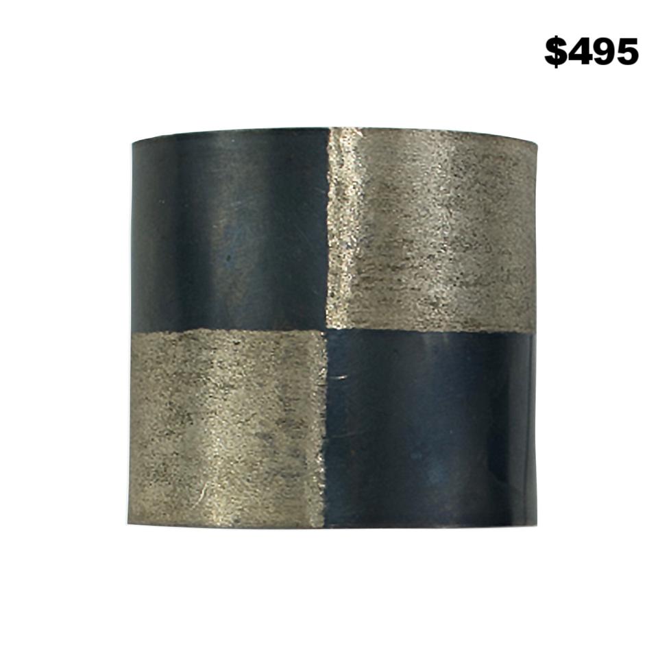 Brushed & Oxidized Cuff - $495