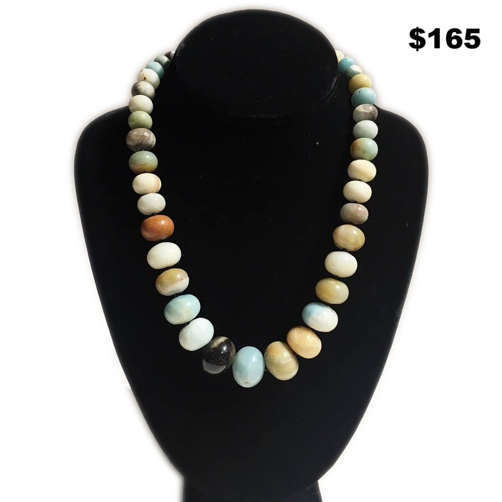 Stone Beaded Necklace