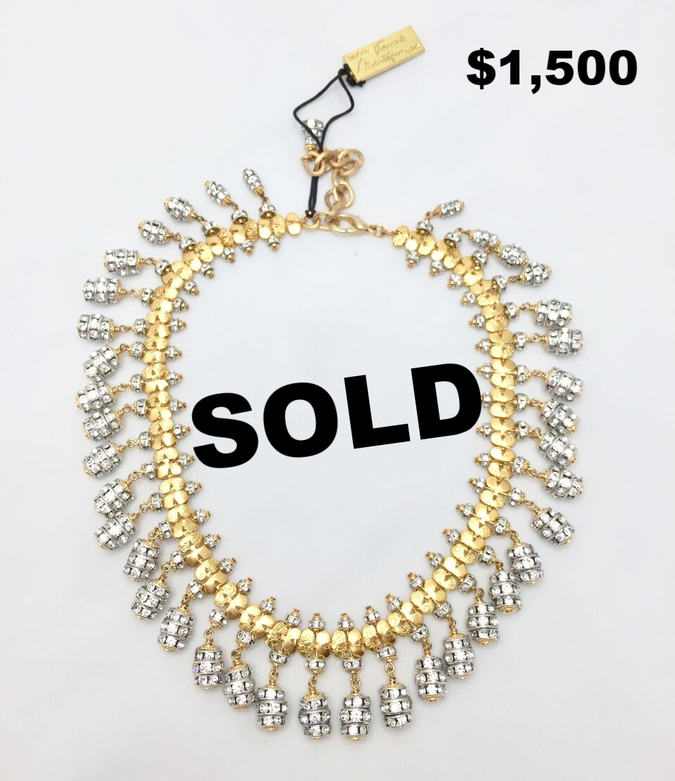 F. Montague Crystal Necklace - $1,500