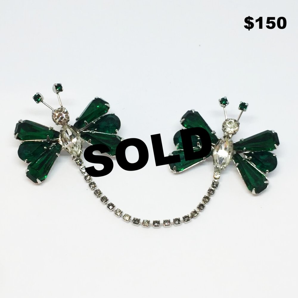 Butterfly Sweater Pin - $150