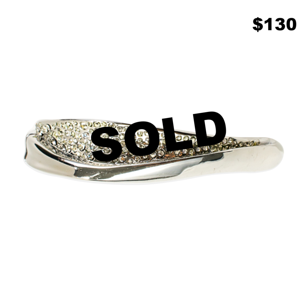 Alexis Bittar Rhinestone Bangle
