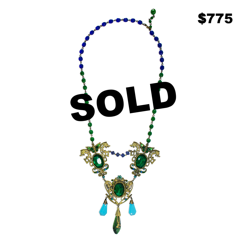 20's Czech Glass Necklace