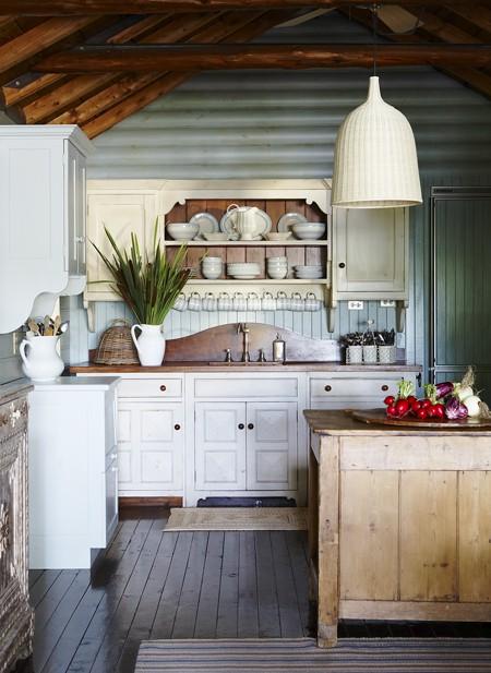 Colette van den Thillart's cottage.