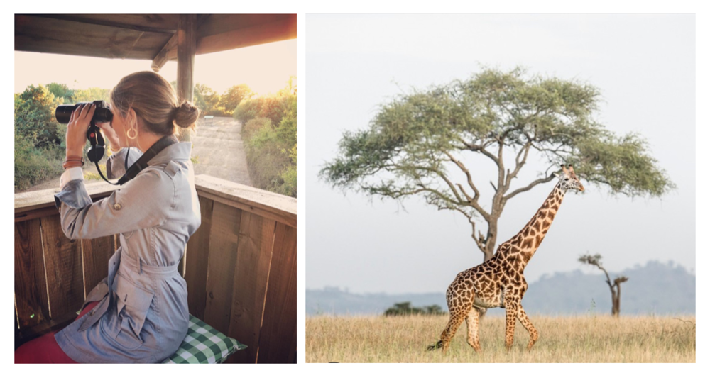 images via instagram - maria delaord and singita_