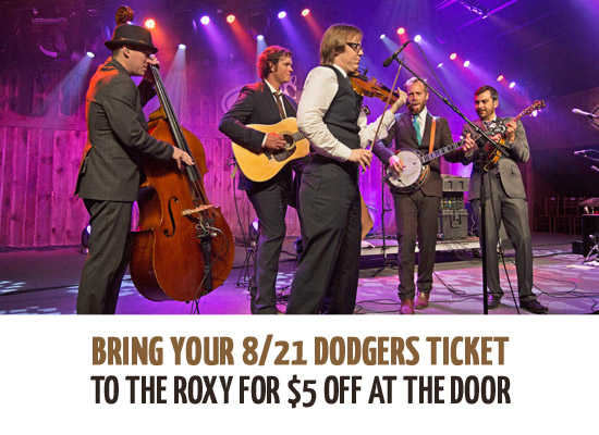 Steep Canyon Rangers California