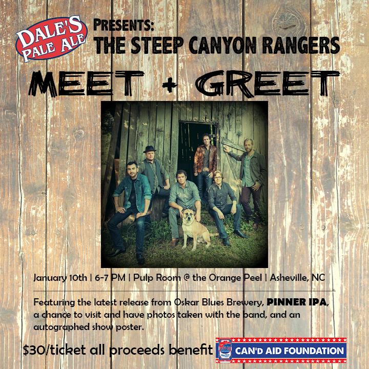 Oskar Blues Steep Canyon Rangers