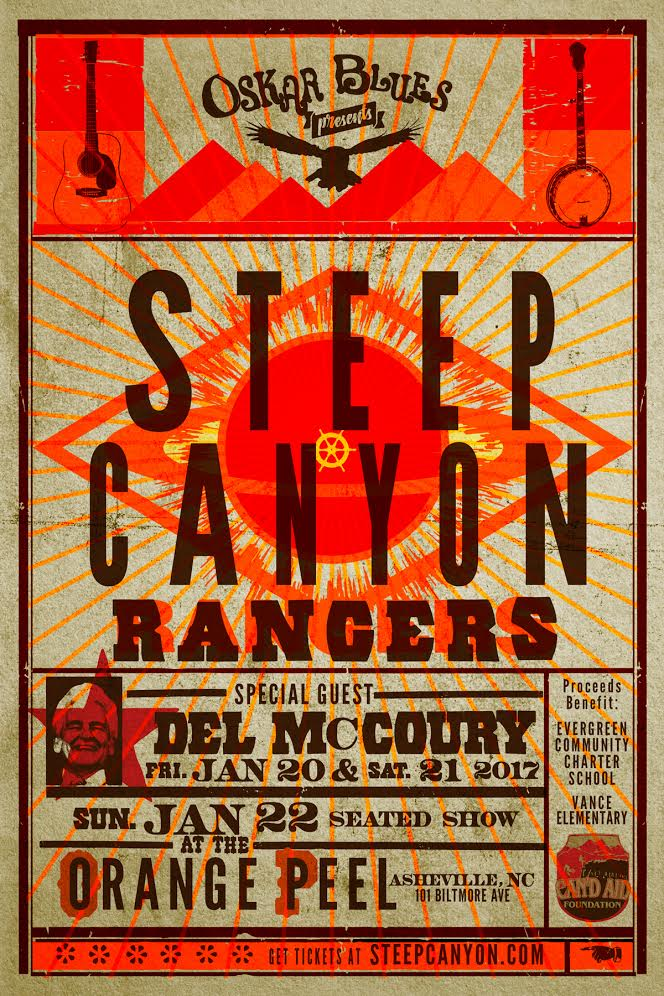 Steep Canyon Rangers The Orange Peel poster