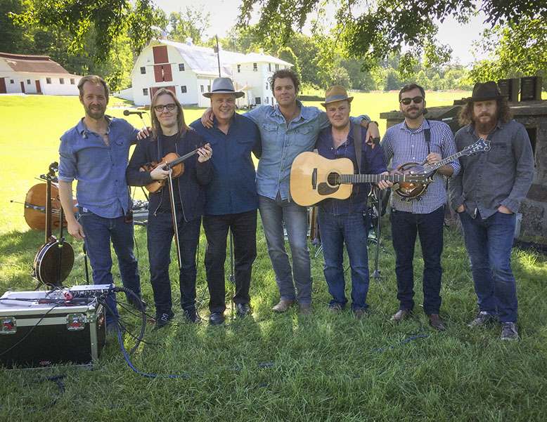 David with the Steep Canyon Rangers