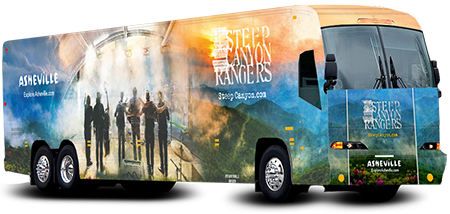 Steep Canyon Rangers Tour Bus