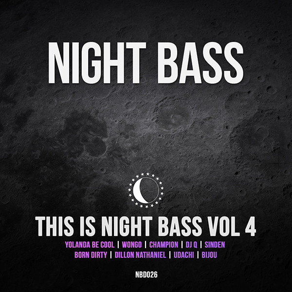 On our 4th installment of This is Night Bass we've wrangled a nice mix of new and familiar names to the label, with sounds ranging from heaviest UKG to the grooviest house. We were stoked to land an epic tune from our globe-trotting Aussie friends Yolanda Be Cool and fellow Aussie bass-maker Wongo. On top of that we've got UK legends Champion and DJ Q each gracing our compilation with serious garage heaters. Night Bass resident badman Sinden drops some bassy darkness, while label newcomers Born Dirty, Dillion Nathaniel and Udachi deliver the quality goods, and Bijou returns with his first solo tune on Night Bass. There's definitely something for everyone here!