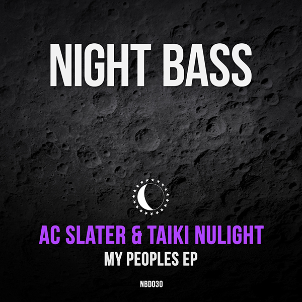 "Night Bass label boss AC Slater and bass music prodigy Taiki Nulight team up for their 1st collaborative release since 2013's ""Doing It"". This brand new peak time two-tracker varies from the dark bass-heavy ""My Peoples"" to the shuffling bouncy bass of the b-side ""Psycho"". USA meets UK once again with great results for the dance floor."