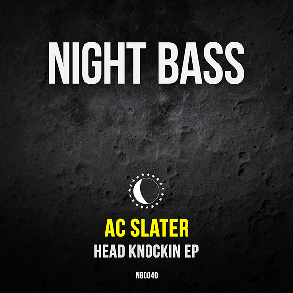 "Label boss AC Slater returns to Night Bass with a dark twisted two-tracker. ""Head Knockin"" kicks it off with it's textured rolling basslines, hype vocals and high-energy build ups guaranteed to get the heads knocking. On ""Super Doopah Legend"" AC brings Taiki Nulight into the mix along with frantic chopped up breakbeats, an intense bass line and quirky vocal samples. File under peak-time heaters."