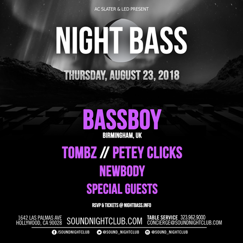 Night Bass August 2018