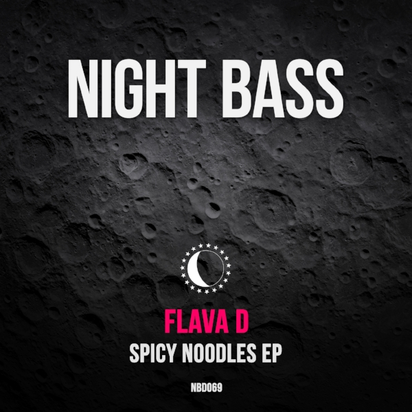 "London's Flava D, one of our favorite DJs and producers, lands on Night Bass with her hearty three song release ""Spicy Noodles"". The EP kicks off with the title track, a spicy hot bowl of bassline for those peak moments of the night. Next up is the bubbly and bouncy ""Pick Pocket"" with vocals by Purple Velvet Curtains. Finally rounding off the EP is ""Acting Stank"", a dark but uplifting roller full of attitude and sample wordplay."