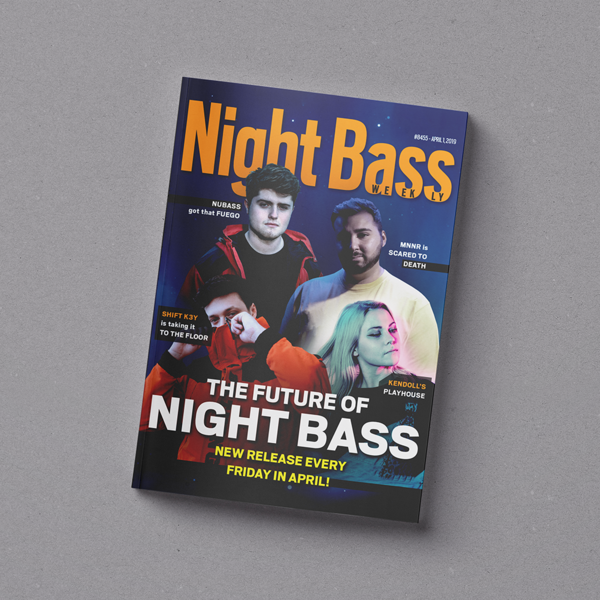 Say hello to Night Bass weekly! We have 4 dope releases coming out every Friday for the month of April. Stay tuned and pre-order all the EPs down below.
