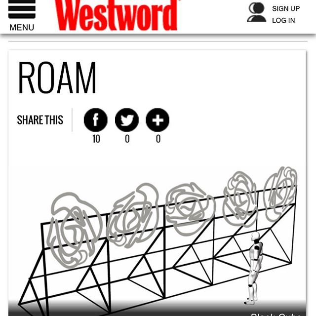 Want to find out more information on @black_cube_nomadic_museum #ROAM piece at #FARMCAD? Visit http://www.westword.com/event/roam-7940211 This piece will be a highlight of this weekend's festivities! @denverwestword
