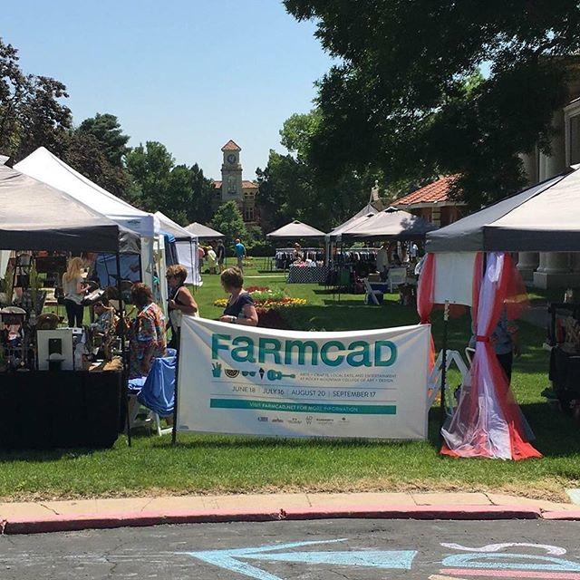 Tomorrow is the day! Our extended hours #FARMCAD market in collaboration with the #WestColfaxMuralFest!  Can't wait to see you all there! Stop by anytime between 10-7 to shop, eat and enjoy live music!  Parking will be available across the street at the DMV on the West side of Pierce!