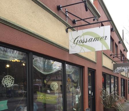 Gossamer storefront