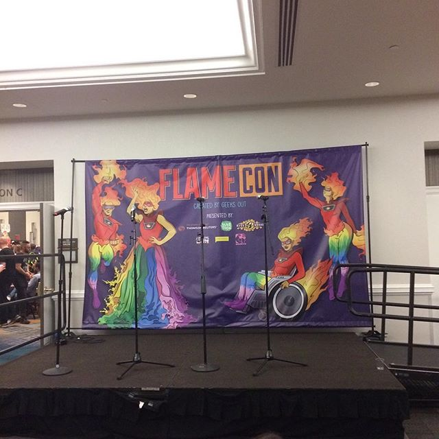 We're hitting the main stage @Flamecon in