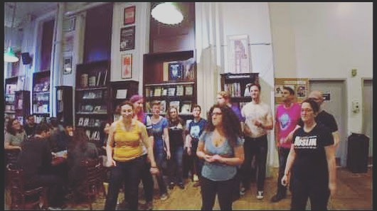 We're returning to @housingworksbks tomorrow night! Start your weekend off right with #geekyfriday! ▪️ ▪️ ▪️ #geekapella #accapella #parodysongs #manhattan #housingworks #nyc #nerds