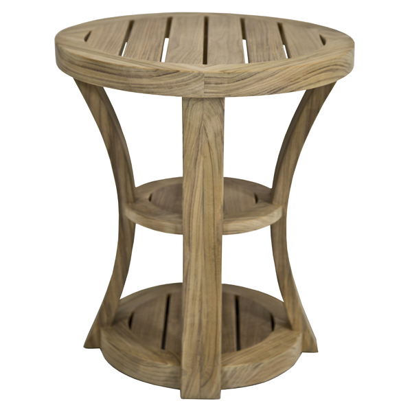 Round side table tria side table leg detail image is for Outdoor furniture noosa