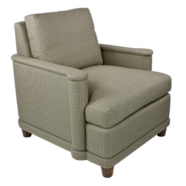 Tuxedo Lounge Chair Loose Back