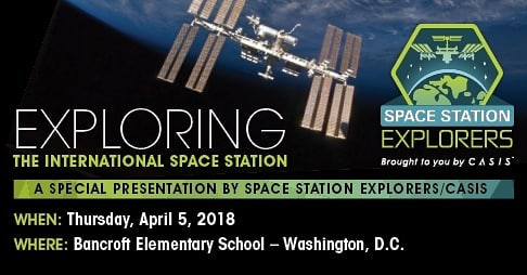 FiLS helped bring two great groups together for tomorrow's special event. Members from the Center for Advancement of Science in Space will be interacting with students from @bancroftdc. #livelearnshare #STEMeducation #spacestationexplorers #CASIS #STEM