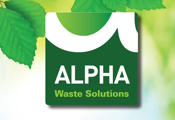 Alpha Waste New Company Identity