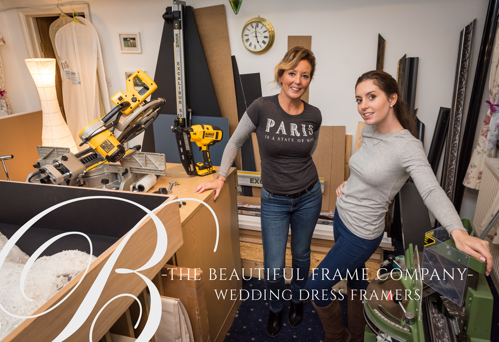 The Beautiful Framing Company - Logo and Brochure design