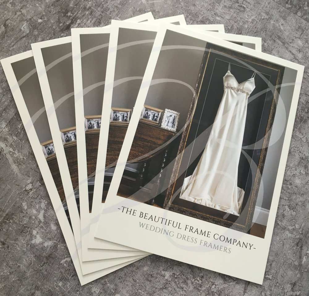 The Beautiful Frame Company Postcard design and print